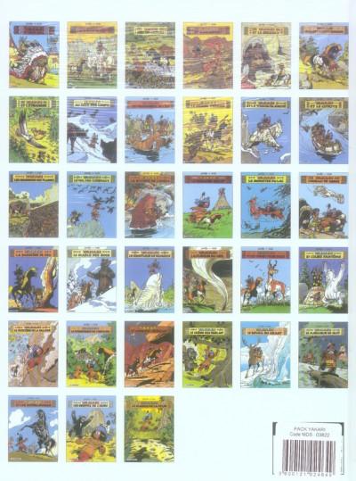 Dos yakari tome 33 - le marais de la peur + 48 Fiches Les incollabes sur les animaux
