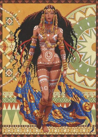 Couverture Djinn coffret tome 1 - note sur Africa