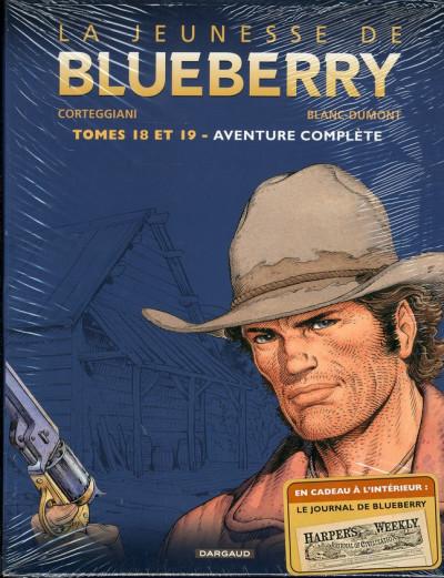 Couverture La jeunesse de Blueberry - coffret diptyque