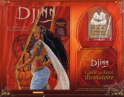 Couverture Djinn tome 10 - coffret pavillon plaisirs