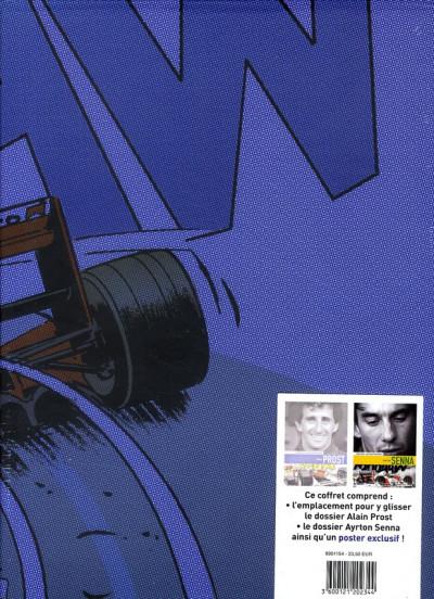 Dos dossiers Michel Vaillant ; le duel Prost-Senna