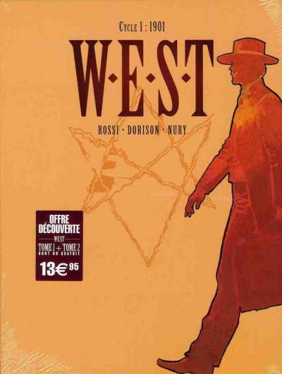 Couverture W.E.S.T tome 1 et tome 2