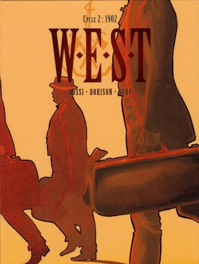 Couverture W.E.S.T tome 3 et tome 4