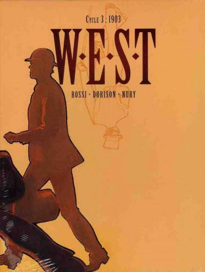 Couverture W.E.S.T tome 5 et tome 6