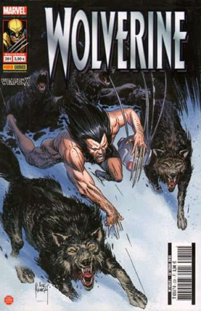 Couverture Wolverine tome 201