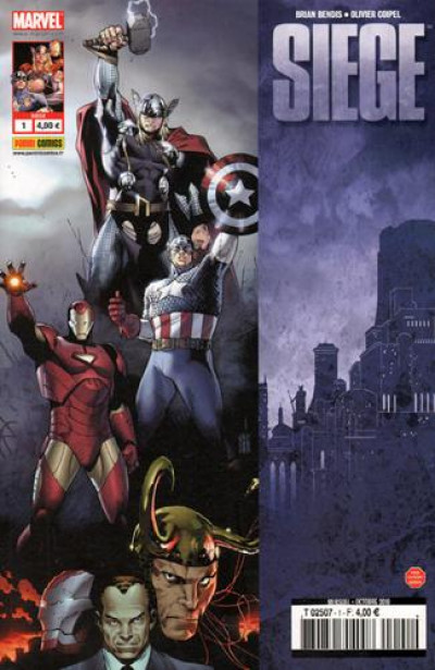 Couverture Marvel heroes - siege tome 1