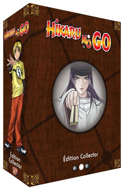 Couverture DVD Hikaru no go partie 2 Collector - Coffret