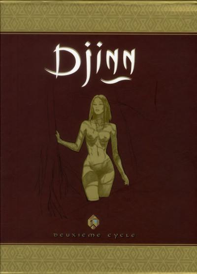 Couverture Djinn - Coffret tome 2 (tome 5 à tome 9)