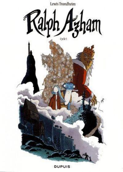 Couverture Ralph Azham - fourreau tome 1 à tome 3