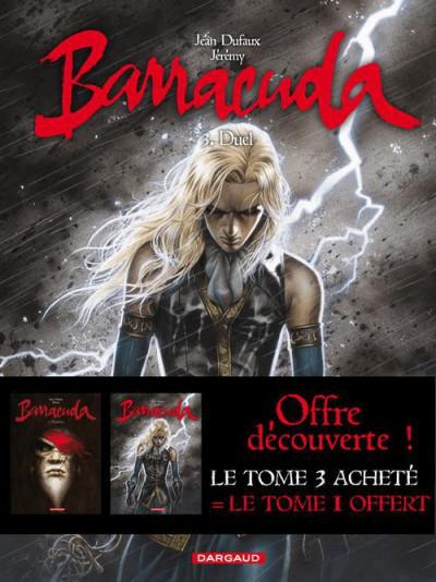 Couverture barracuda tome 3 - + tome 1 gratuit