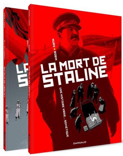 Couverture Coffret La mort de Staline