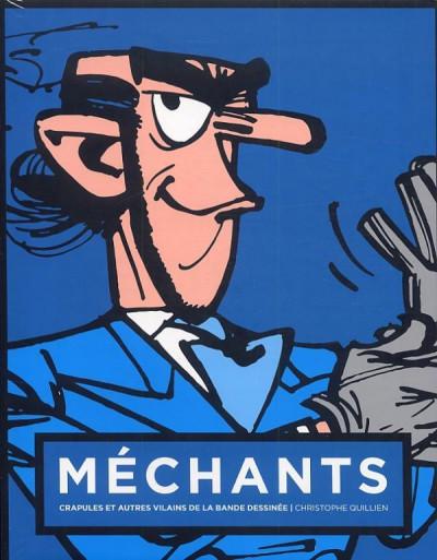 Couverture Méchants - crapules et autres vilains de la bande dessinée (couverture Zorglub)