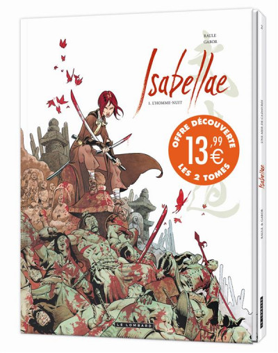 Couverture Isabellae tome 1 et tome 2