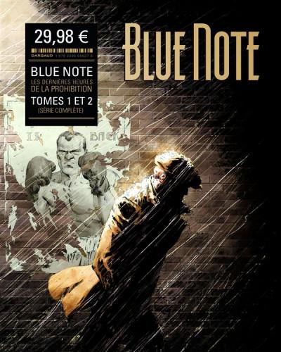 Couverture blue note - fourreau tome 1 et tome 2