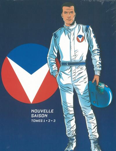Couverture Michel Vaillant - nouvelle saison - fourreau