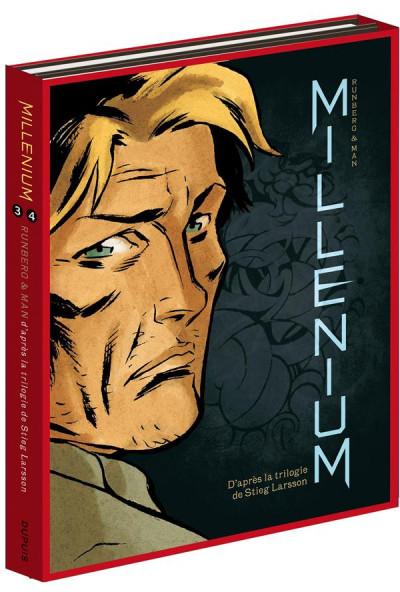 Couverture Millenium fourreau tome 3 et tome 4