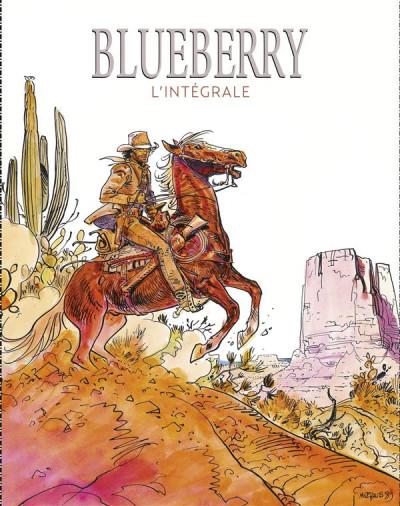 Couverture Blueberry - coffret intégrale