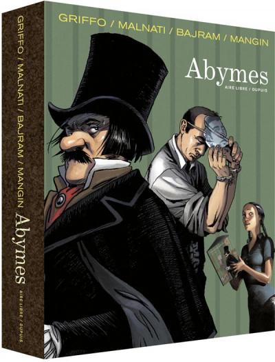 Couverture Abymes - coffret tome 1 à tome 3