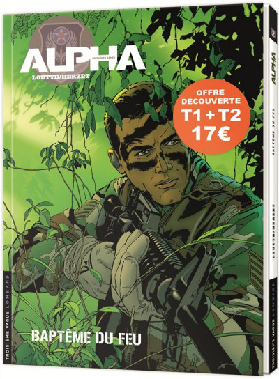 Couverture Pack Alpha premières armes tomes 1 et 2