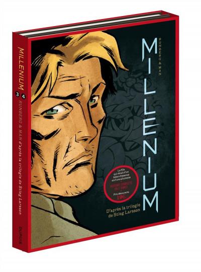 Couverture Millenium - fourreau tomes 3 et 4