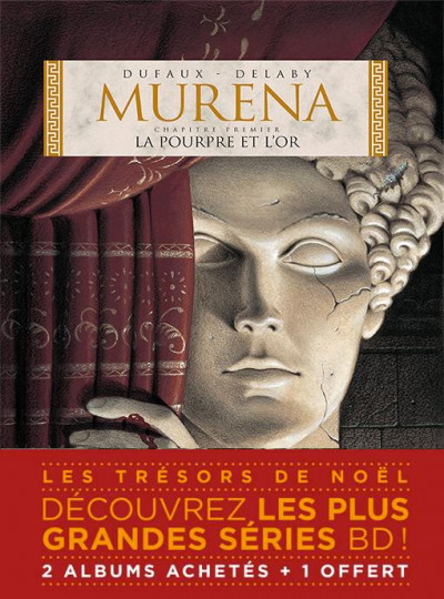 Couverture Murena pack tomes 1 à 3 (1 tome offert)