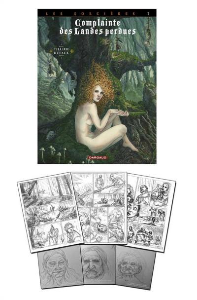 image de Complainte des landes perdues - cycle les sorcières tome 1 - tête noire (édition spéciale)