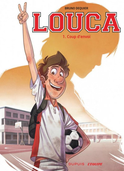 Couverture Louca tome 1 + kit maquillage supporter