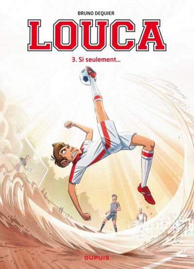 Couverture Louca tome 3 + kit maquillage supporter
