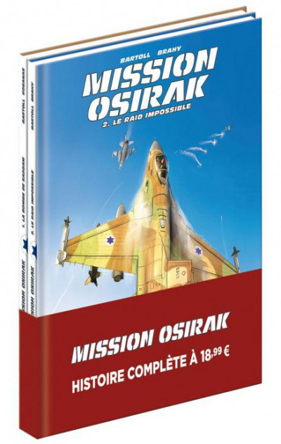 Couverture Mission Osirak - pack tomes 1 et 2
