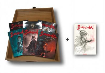 Couverture Barracuda - coffret tome 1 à tome 6 + crayonnés tome 6