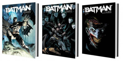 Couverture Batman - pack tomes 1 à 3 (1 tome offert)