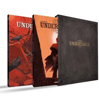 Couverture Undertaker - coffret tomes 1 et 2 + ex-libris