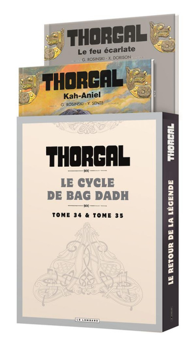 Couverture Thorgal - fourreau tomes 34 + 35