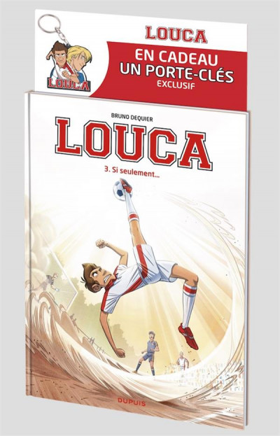 Couverture Louca tome 3 - pack coupe du monde