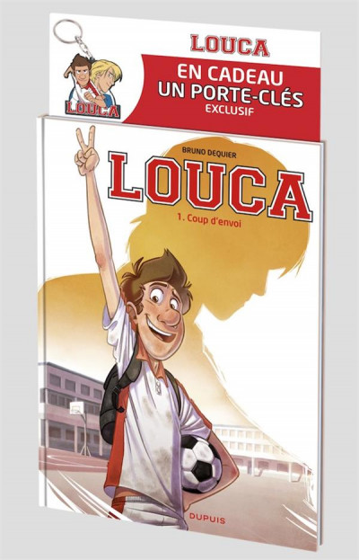 Couverture Louca tome 1 - pack coupe du monde