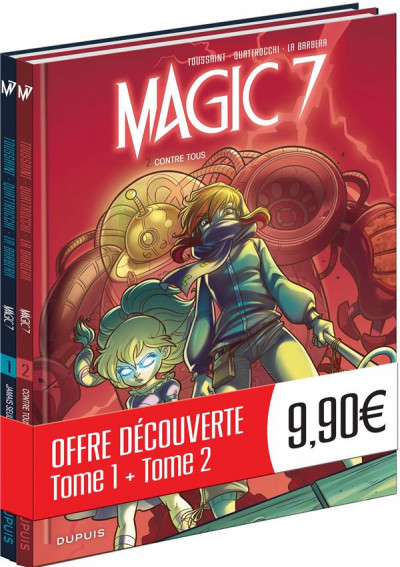 Couverture Magic 7 - pack tomes 1 + 2