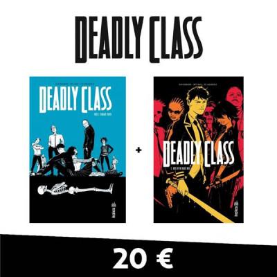 Couverture Deadly class - pack tomes 1 et 2