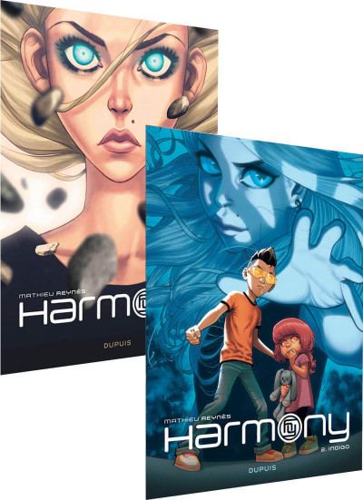 Couverture Harmony - pack tome 1 + tome 2