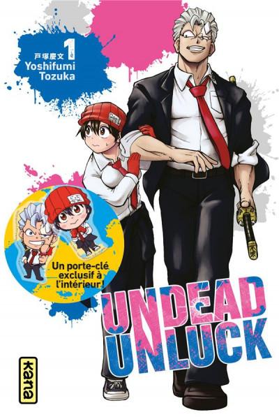 Couverture Undead unluck - coffret collector tome 1