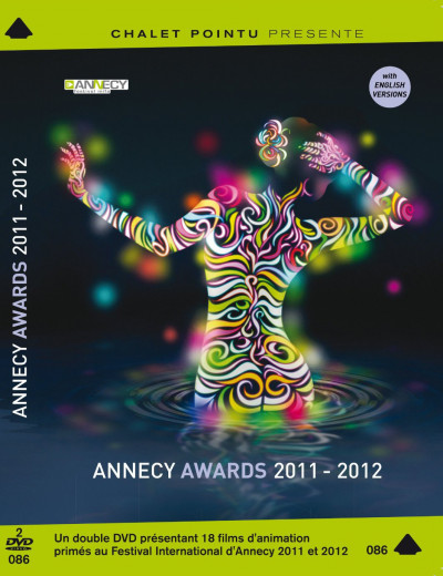 Couverture DVD Annecy Awards 2011-2012