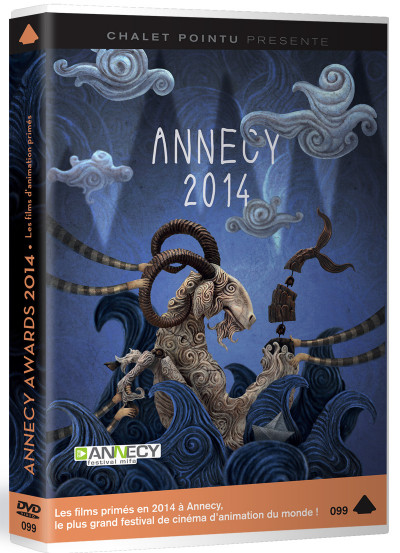 Couverture DVD Annecy Awards 2014
