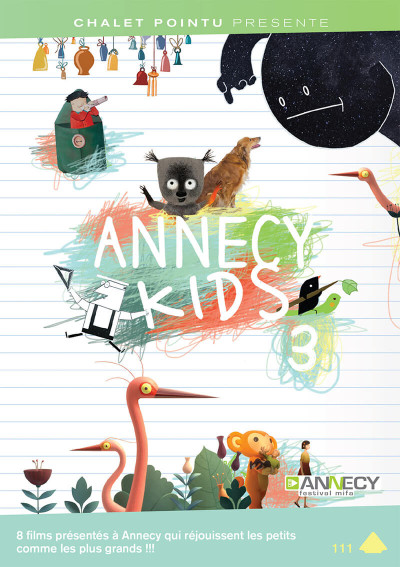 Couverture annecy kids 3 - dvd