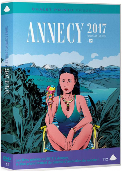 Couverture DVD Annecy Awards 2017