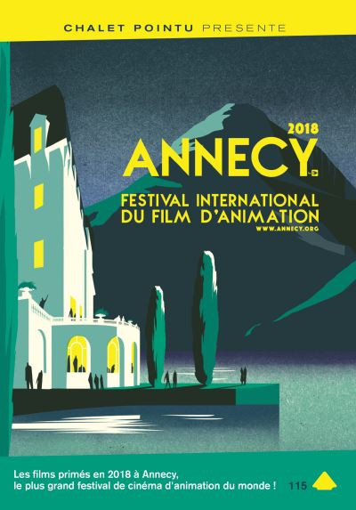 Couverture DVD Annecy Awards 2018