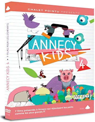 Couverture annecy kids 4 - dvd