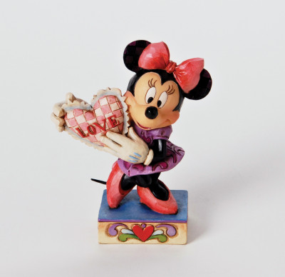 Page 1 Figurine MY VALENTINE ;Minnie