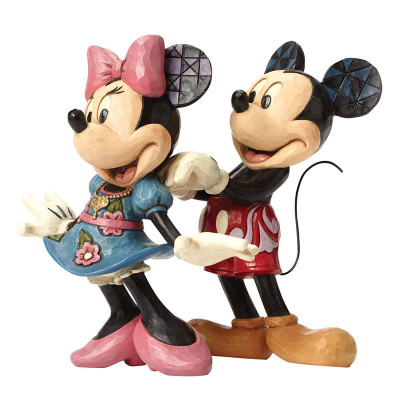 Couverture Figurine Mickey et Minnie for my sweetheart