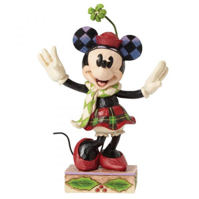 Couverture Figurine Merry Christmas Minnie Mouse