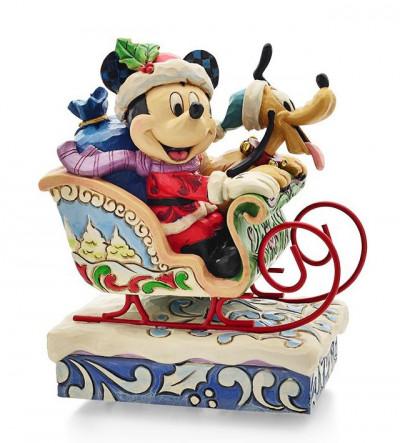Couverture Figurine Mickey et Pluto - Tradition boite à musique
