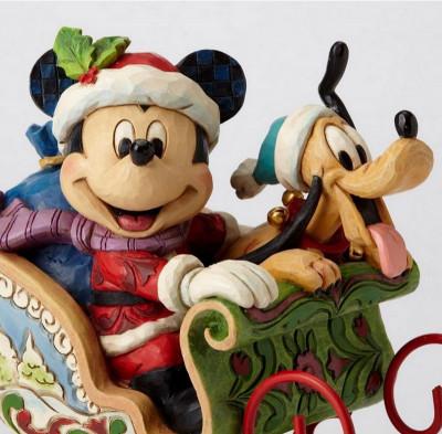 Page 1 Figurine Mickey et Pluto - Tradition boite à musique